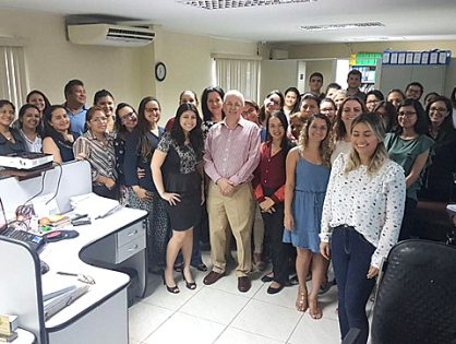 CEO at MGI Worldwide global accounting network, Clive Viegas Bennett, visits accountancy group member firms in Brazil