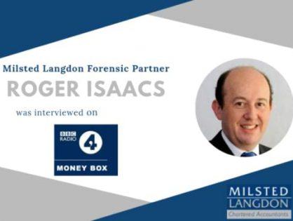 MGI Worldwide accountancy network chairman Roger Isaacs interviewed by BBC Radio 4's Money Box