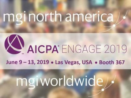 MGI North America and MGI Worldwide representatives to attend AICPA ENGAGE 2019 next month