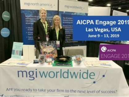 Extremely positive experience for MGI at the AICPA ENGAGE Conference in Las Vegas, meeting with members and making many new connections for the future!