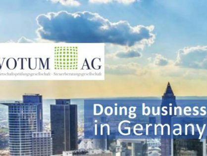 NEW Guide for Doing Business in Germany published by Votum AG