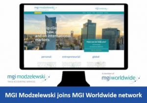 Poland-based MGI Modzelewski adopts MGI prefix and joins MGI Worldwide global accounting network