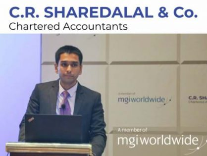 MGI Worldwide member, C.R. Sharedalal & Co., publicly announce global accounting network membership at the firm's annual seminar