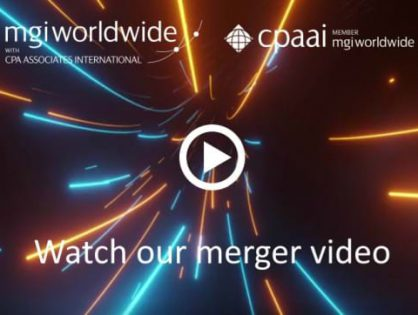 We are merging, watch our MGI Worldwide with CPAAI video and find out more!