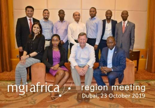 MGI Africa region meets at the sidelines of MGI Worldwide 2019 Annual General Meeting
