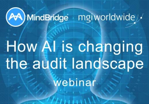 Watch our latest webinar on how AI is changing the audit landscape. The future is now.