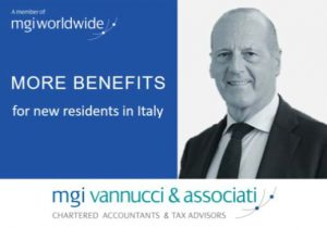 Need to know more about the new tax benefits for foreign workers who decide to live in Italy? Pierpaolo Vannucci explains