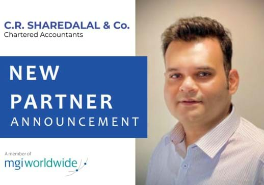 India-based member firm C.R. Sharedalal & Co. expands their top team