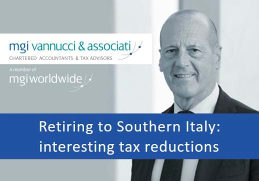 Do you have clients considering a move to Italy? Italian government offers tax reductions to foreign pensioners