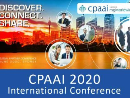 Registration is now open!  The CPAAI 2020 International Conference is taking place in Sydney on 3-6 June