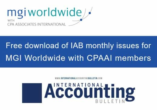 Interested in regular updates on business issues affecting accounting firms, networks and associations?