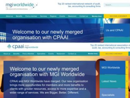 MGI Worldwide with CPAAI unveil new updated websites!