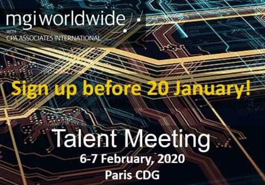 Don't forget to sign up for the 2020 Talent Meeting!