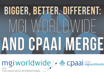 Front page cover feature for MGI Worldwide and CPAAI CEO Clive Bennett!