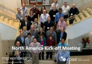 MGI North America and CPAAI members had their first North America Kick-Off Meeting in Houston, USA