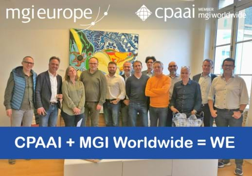 Board members of MGI Europe and CPAAI EMEA met in Paris to plan together for the future.