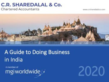 C.R. Sharedalal of Gujarat, India, produces a new Doing Business Guide for members and promotes the expertise of MGI and CPAAI firms across the country.