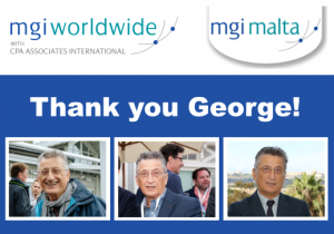 As George Farrugia from MGI Malta enters retirement, we look back fondly at over 30 years of his time as an active member of our global accountancy network