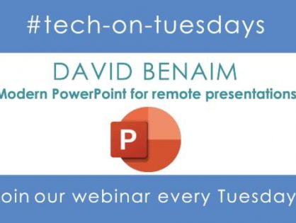 Modern PowerPoint For Remote Presentations Webinar – Learn How To Wow In PowerPoint Register Now!