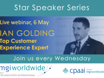 Register for this Wednesday's Webinar: A valuable offering for ALL Members, Staff and Clients