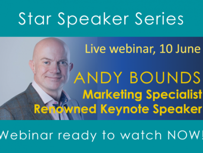 Watch our latest Star Speaker Webinar recording for all MGI Worldwide and CPAAI members and hear some great tips and advice on how to sell - during - and after the pandemic!