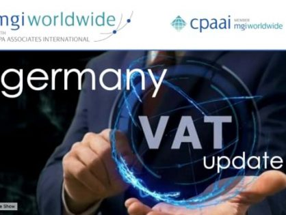 HOT off the press! Global VAT Specialist Group publishes newsletter covering the recent changes in German VAT rates