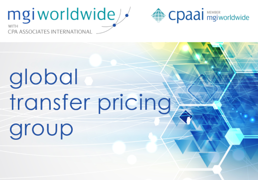 MGI Worldwide with CPAAI Global Transfer Pricing Specialist Group microsite is now live!