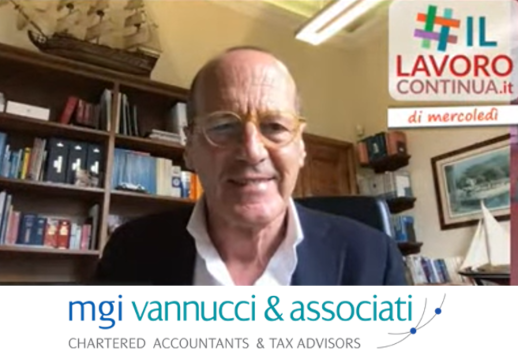 MGI Europe member firm MGI Vannucci & Associati, based in Lucca, Italy, actively supports the Italian webinar initiative #IlLavoroContinua (#WorkEndures)
