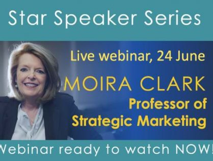 Are you shaping the market and doing things better for your customers? Learn how from Professor Moira Clark – Watch the Webinar Recording Now! Available for all MGI Worldwide and CPAAI members