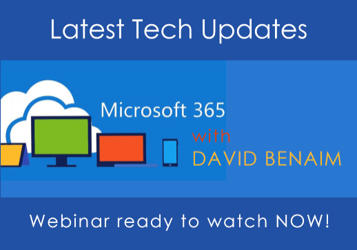 Learn all about Excel's Power Query and other Microsoft Updates in our most recent tech webinar – ready to watch now!