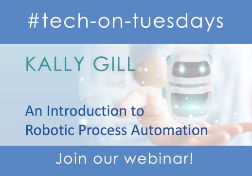 New to RPA? Don't miss our upcoming 'An Introduction to Robotic Process Automation Webinar' by Kally Gill. Register now!