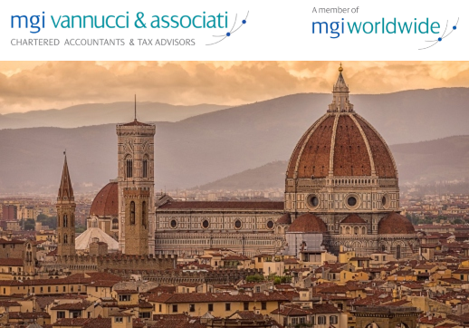 Italy's The Florentine magazine publishes Investors Visa Program feature article, written by MGI Worldwide with CPAAI member firm, MGI Vannucci & Associati