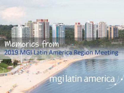 Meeting Memories: Looking back to 2019 MGI Latin America Region meeting in Manaus, Brazil