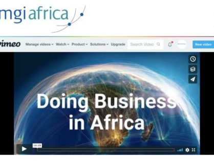 Watch the NEW MGI Africa member video as member firms from across the region highlight the reach of the network and promote local business opportunities