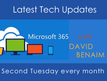 Want to know more about some of the lesser-known Office 365 apps? Watch the latest tech webinar with David Banaim - our resident Outlook expert