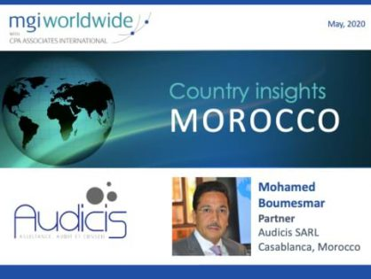 Country insights: Morocco - MGI Middle East & North Arica member firm shares insights on current trends and opportunities within the Moroccan accounting profession
