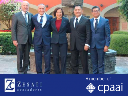 Congratulations to Mexico-based member firm Zesati Contadores on their 44th anniversary!