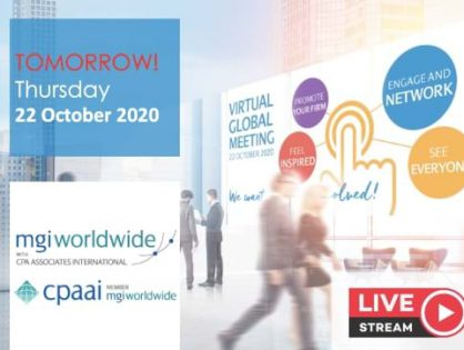 MGI Worldwide CPAAI Virtual Global Meeting is TOMORROW! Are you ready? Here's what you need to know