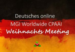 Fun, friendship, great stories and active participation characterise German member firms' online Christmas gathering