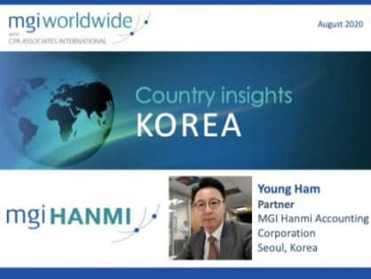 Country insights: Korea - Interested to know more about the Korean economy? Young Ham comments on buoyant service areas and how the country is dealing with recent fraud allegations