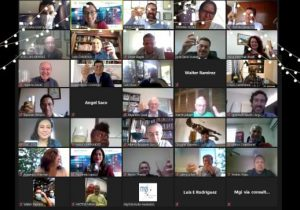 Celebrating together! MGI Worldwide CPAAI members gather virtually for year-end round-up and festive toast!