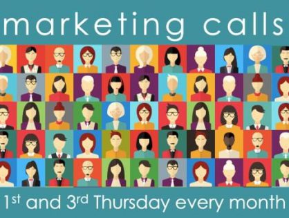 Don't forget, the MGI Worldwide CPAAI Member Marketing Zoom Calls are back next Thursday 21 January, usual time