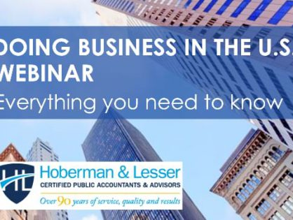 Must-watch webinar available to watch now: Everything you and your Clients need to know about Doing Business in the U.S. from an Accounting and Legal perspective