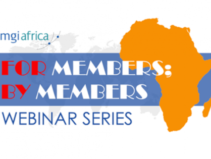 MGI Africa's NEW 'For Members; By Members' webinar series kicks off with a look at 'Professional Code of Conduct in Practice', hosted by Susan van der Valk of South Africa's MGI Bass Gordon