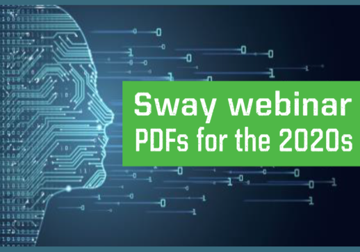 Have you considered using Sway to easily create WOW presentations? Watch our 'Sway: brochures for the 2020s' tutorial with David Benaim's tips, now available on demand!
