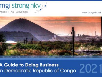 Do you have clients with business interests in Africa? MGI Strong Nkv, of Democratic Republic of Congo, produces a detailed NEW Doing Business Guide