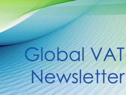 Latest Global VAT Specialist Group Newsletter examines Making Tax Digital (MTD) for the UK