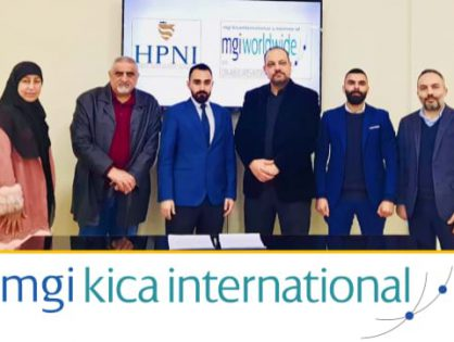 Great news from the MENA Region as MGI KICA International signs memorandum of co-operation with HPNI Health Consulting in Lebanon