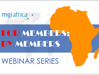 MGI Africa's 'For Members; By Members' series continues. Don't miss 'Pivoting during a pandemic' with Baraka Cassian, Partner at Cassian & Associates