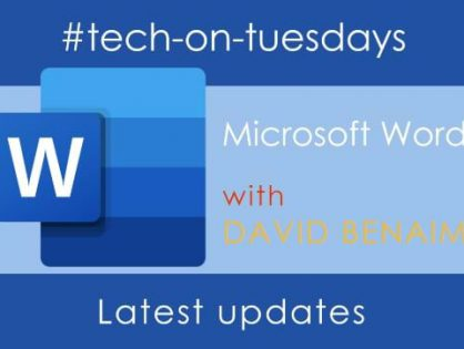 Latest MGI Worldwide CPAAI #tech-on-Tuesdays webinar reveals the most recent enhancements to Word and OneNote. Webinar recording available on demand!